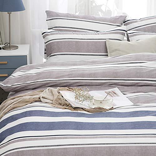 Faus Koco Fundas para Almohada Tira de algodón Kit de impresión Activa Simple y teñido Dormitorio Ropa de Cama Funda de Almohada de Cuatro Piezas * 2 / Hojas/Cubierta de Colcha