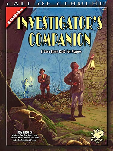 1920s Investigator Companion (Call of Cthulhu Roleplaying)