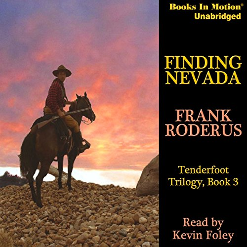 Finding Nevada audiobook cover art