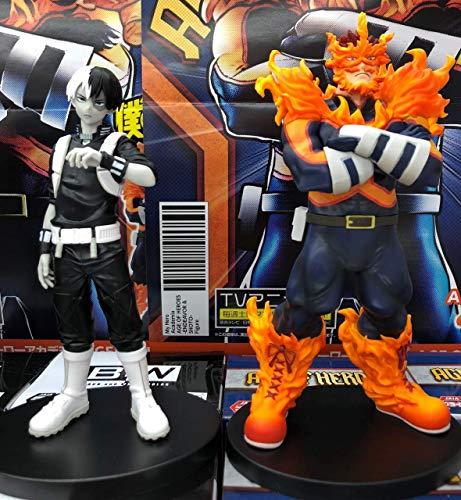 Action Figure My Hero Academia Kit Endeavor E Todoroki Original Banpresto
