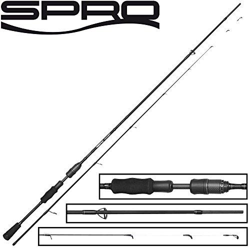 Spro Freestyle Concept Dropshot 2,40m 7-28g - Drop Shot Rute zum Spinnfischen auf Zander & Barsche, Spinnrute zum Dropshotangeln