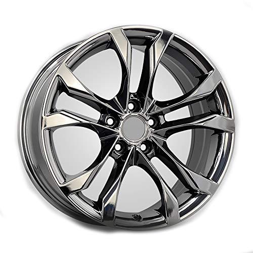 GYZD Alu Felgen 18 Zoll Durchfluss geschmiedete Radlegierung Ersatzrad Auto Rad Maschine Aluminium Felge Passend für R18 *8.5J Reifen Geeignet für a4l a6l a3 a4 a7 a5 q7 1 Stück,C