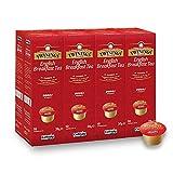 Twinings English Breakfast Teekapseln für Tchibo® Cafissimo® Caffitaly® K-Fee® Teekanne® 80...