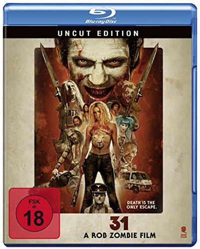 31 - A Rob Zombie Film (Uncut) [Blu-ray]
