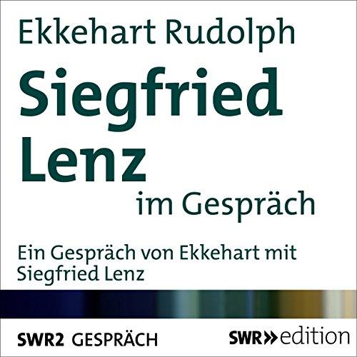 Siegfried Lenz im Gespräch audiobook cover art