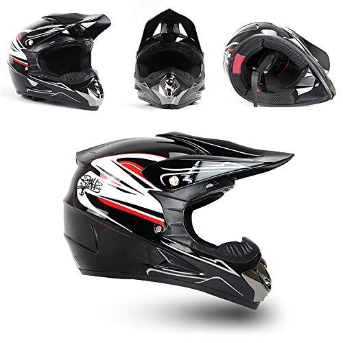 ZZSG Casco De Motocross Integral Unisex Enduro Quad MTB Downhill ATV Motocicleta...