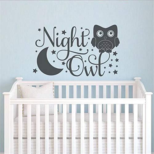 pegatinas de pared star wars Night Owl Stars Nursery Decor Night Owl Kids Room Decor DIY Baby Room para guardería kids room boys girls room