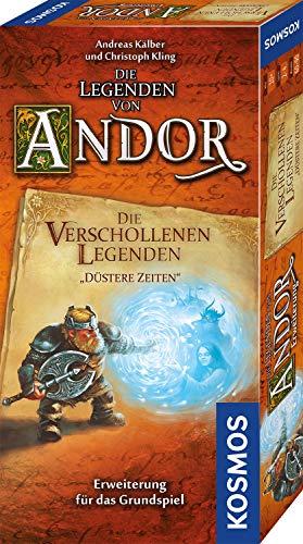 Kosmos Die Legenden von Andor – Die verschollenen Legenden – Düstere Zeiten, Erweiterung für das Grundspiel