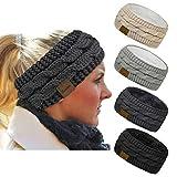 Loritta 4 Pack Womens Winter Headbands Fuzzy...