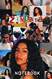 Zendaya : Notebook and Journal Perfect for Birthday gifts and Fan club members: perfectly Lined journal with 110 pages , 6x9 inches