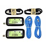 2 Pack - DIRECTV Broadband Deca Ethernet to Coax Adapter - Third Generation (with 2 USB Power Cables)