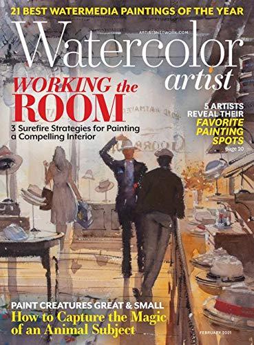Watercolor Artist Magazine February 2021 [Single Issue Magazine] Watercolor Artist Magazine
