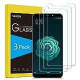 SPARIN [3-Pack] Cristal Templado Xiaomi Mi A2, Protector Pantalla Xiaomi Mi A2 Vidrio Templado con [2.5d Borde Redondo] [9H Dureza] [Alta Definicion] para Xiaomi Mi A2