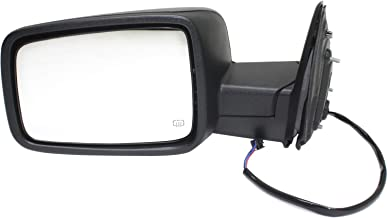 Kool Vue DG84EL Mirror for RAM 1500/2500 P/U 13-17 LH Power Man Fldg Heated Textured Black