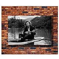 ギタリストとボートのポスターとプリントオルタナティブロックミュージックギフトアートポスターキャンバス絵画家の装飾-50X70cmフレームレス