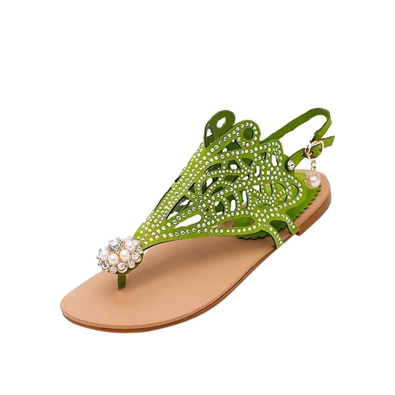 通訳ぺディカブ全くWyntroy レディース スリッパ サンダル 歩く ビーチサンダル 女性たち オープントゥサンダル 花柄 女性の靴 ファッション 歩きやすいフラットシューズ ビーチスリッパ