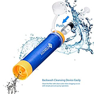 عروض Etekcity المحمولة تصفية المياه لتنقية القش تنقية
