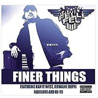 Weitaian Dj FellifelミュージックアルバムFinerthings(2008)カバーポスター壁アートキャンバスプリント絵画リビングルーム家の装飾-24X24インチフレームなし(60X60Cm)