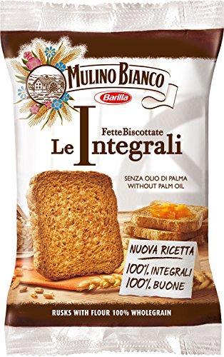 Mulino Bianco Fette Biscottate le Integrali - Pacco da 100 Pezzi (1700 gr)