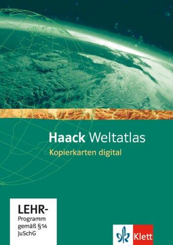 Haack Weltatlas für die Sekundarstufe I. Kopierkarten digital