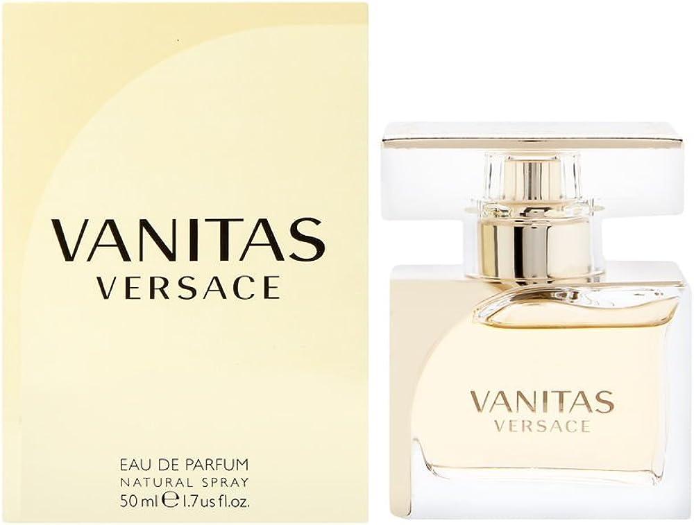 Versace, vanitas, eau de parfum per donna, 50 ml VERVANF0105002