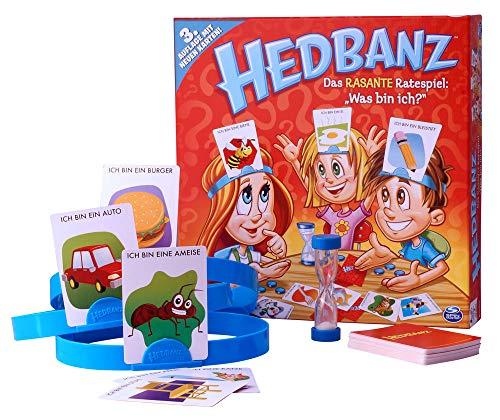 Hedbanz - Juego de mesa (Spin Master Games) [versión surtido ...