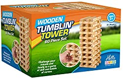 Family fun: The aim of the tumbling Tower is to be the last player to place a block without knocking the tower down. The winner is determined by who is the last person to place a block on the top of the tower. Are you a winner? Play it anywhere: it's...