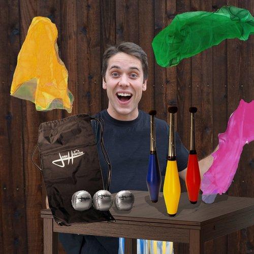 Zeekio Josh Horton Kids Beginner Juggling Set