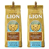 ライオンコーヒー コナ100%24キャラット(粉) 198g (2個)