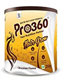 Colet Pro360 Hair Grow Nutritional Protein Drink (Chocolate Flavour) Biotin Rich Dietary Supplement for Healthier, Thicker and Shinier Hair, 250Gm