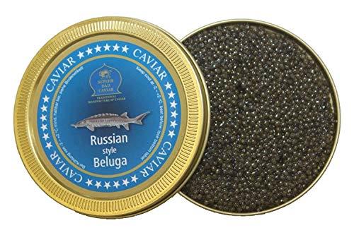 Caviale Beluga stile russo 125g (caviale di storione)
