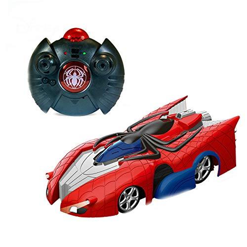 pengpeng Control Remoto Coche Marvel Transformer Spiderman Escalada Coche Control Remoto Techo Racing Juguetes Eléctricos