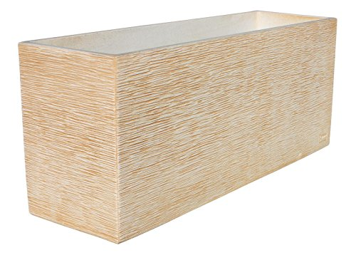 ARTESANÍA ROCA Maceta DE Piedra Muy Resistente con Fibras Especiales 60x17cmx 19 cm Altura.Maceta...
