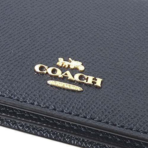 [コーチ]COACHコーチカードケース名刺入れクロスグレインレザービジネスカードケース87731IMMIDミッドナイトネイビー[並行輸入品]
