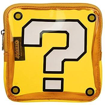Super Mario Question Box Clear PVC Coin Purse
