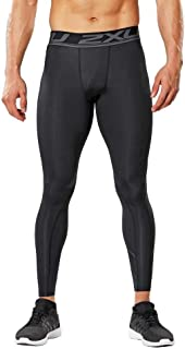 2XU Compression Training Bottoms Wetsuits for Men - Black - Xl