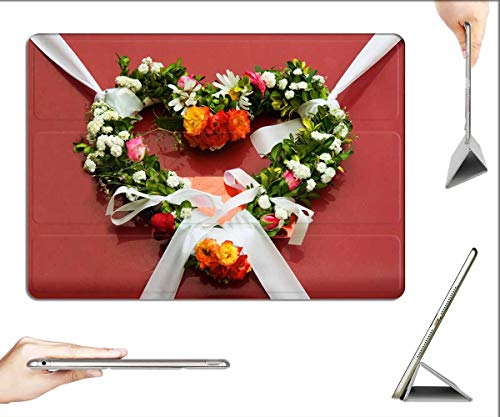 Case for iPad Pro 12.9 inch 2020 & 2018 - Wreath Flowers Wedding Decoration Floral Ornament