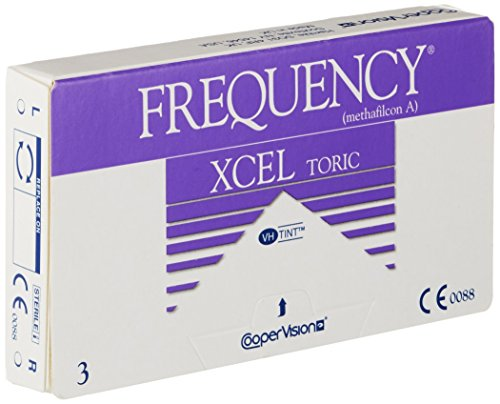 Frequency XCEL Toric Monatslinsen weich, 3 Stück / BC 8.70 mm / DIA 14.40 CYL -0.75 / ACHSE 70 / -3.50 Dioptrien