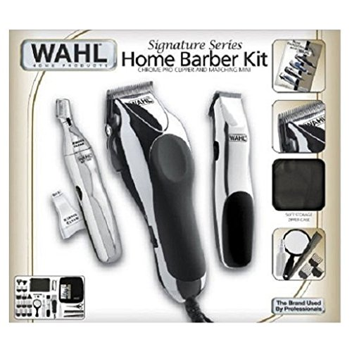 Price comparison product image Wahl 30 Piece Hair Cut Home Barber Kit Trimmer Clipper Signature Series Haircut