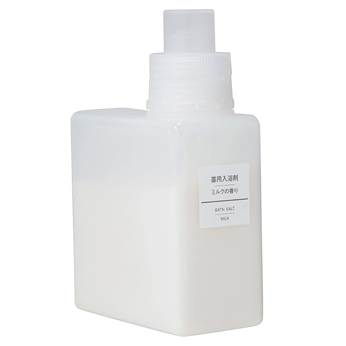 コメンテーター麦芽苗無印良品 薬用入浴剤?ミルクの香り (新)500g 日本製