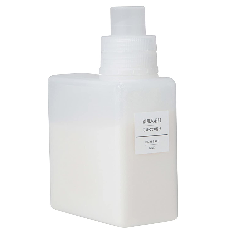 アンビエント資金篭無印良品 薬用入浴剤?ミルクの香り (新)500g 日本製