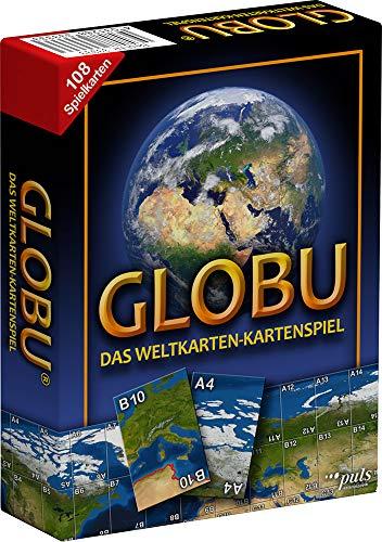 GLOBU 33333 - Das Weltkarten-Kartenspiel