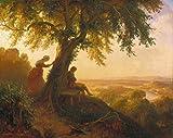 Kunstdruck/Poster: Eugen Napoleon Neureuther Aus Goethes