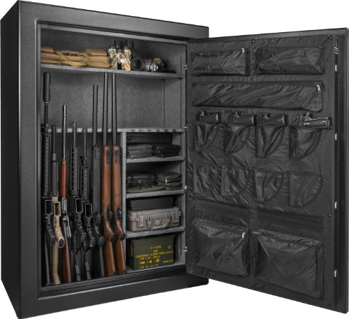 Barska New Fireproof Fire Vault Rifle Gun Keypad Lock Safe Cabinet (19.9 Cubic feet)