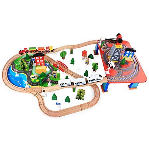 Juguete Interactivo Juguetes for niños pequeños pista de carreras de coches de rampa Racer for regalos de la muchacha del juego del muchacho Cubo Centro de Actividades para Niños Pequeños y Niños