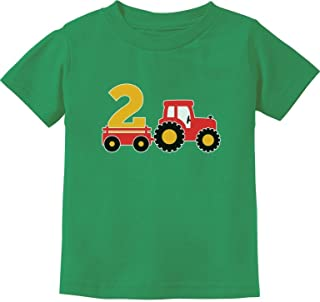 2nd Birthday Gift Construction Party 2 Year Old Boy Toddler/Infant Kids T-Shirt