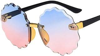 niawmwdt - Redondo Retro Niños Gafas De Sol Vintage Gafas Para Niña/Niño Gafas De Sol De Lujo Niño Lindo Oculos De Sol Feminino