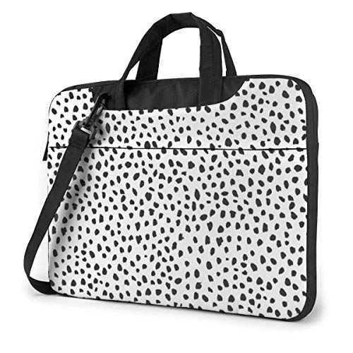 Dot Unisex Laptop Bag Messenger Shoulder Bag for Computer Briefcase Carrying Sleeve