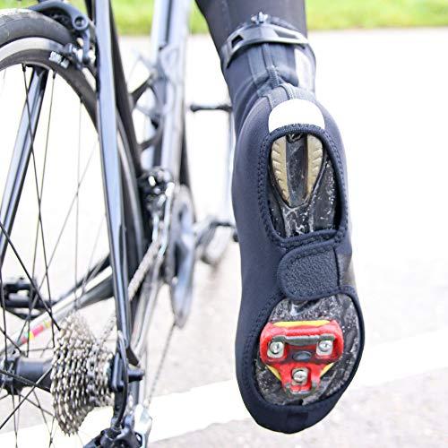 BBB Cycling Fahrrad Überschuhe Winter Herren und Damen | Kälteschutz Thermo Uberschuhe Rennrad MTB Multistretch-Neopren | HeavyDuty OSS BWS-02B - 6