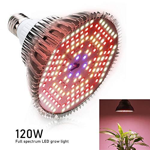 Pflanzenlicht Grow Light Vollspektrum pflanzenlampe 120 Watt Led Wachsen Licht Vollspektrum Pflanzenlampe 180 Leds Blumenzwiebel Für Innen Wachsen Box Sämling Lichter